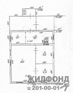 Дом, Новосибирск, Булавина, 54 кв. м Фото 1