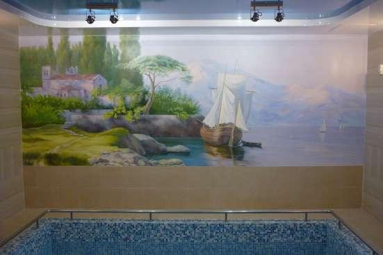 Дизайн интерьера и оформление фасада дома, роспись, ландшафт в Тольятти Фото 1