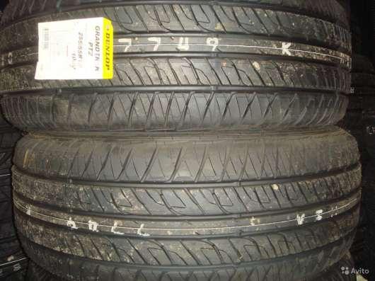 Новые Dunlop 255/55 R18 данлоп грандтрэк пт2