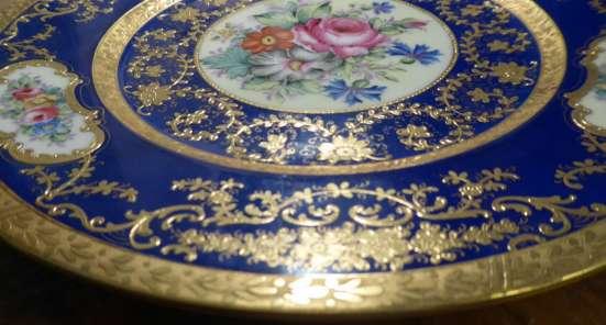 Hutschenreuther.Шикарное тарелка,золото.27 см. в г. Франкфурт-на-Майне Фото 3