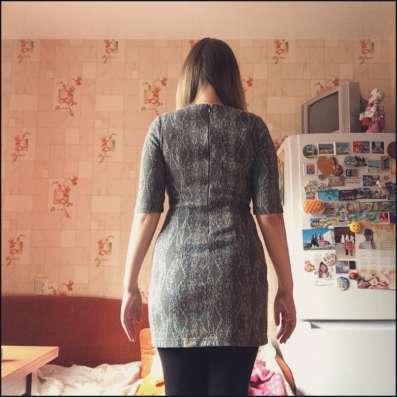 Серое платье-туника в Мурманске Фото 1