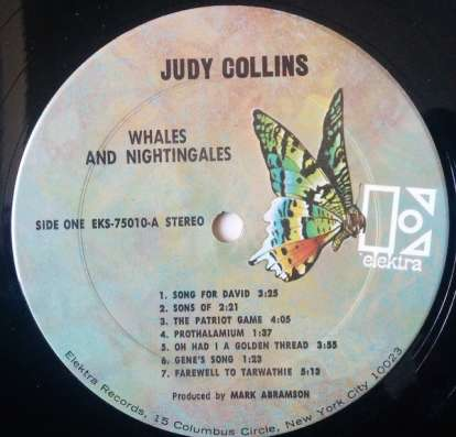 Judy Collins - Whales And Nightingales в Санкт-Петербурге Фото 2