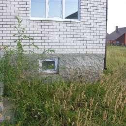 Дом на А. П. Краснова без внутренней отделки