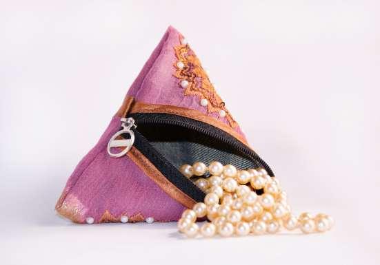 Кошелёк-пирамидка для мелочей