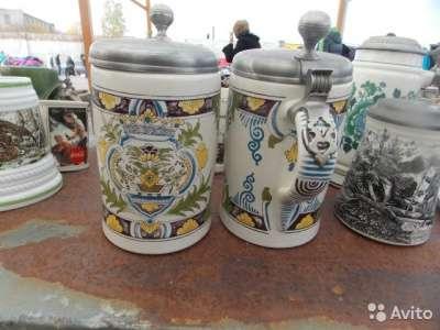 Кружки керамические -литровые