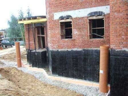 Строительство фундамента в Пушкино