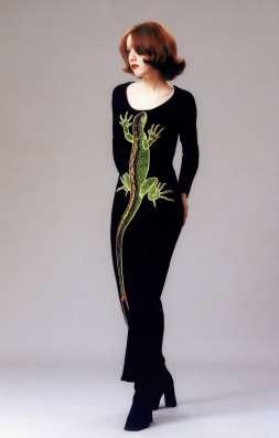 """Вечернее платье """"Любимая ящерица №3"""""""