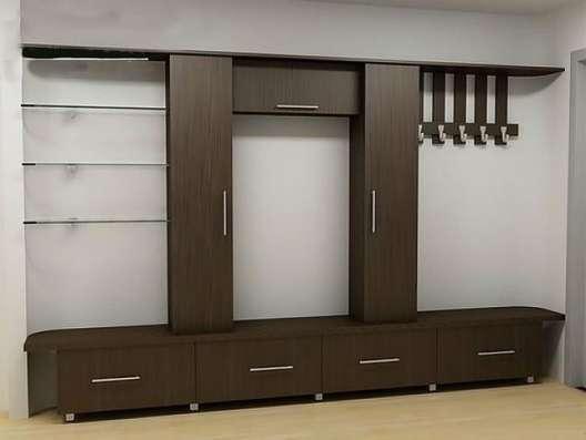 Прихожие по размеру, шкафы-купе, нестандартные в Уфе Фото 5