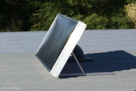 Солнечный коллектор воздуха Solar Fox с комплектом креплений