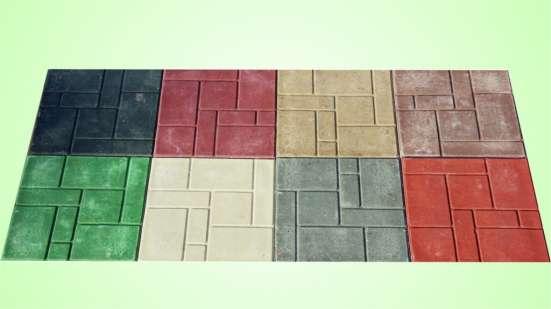 Продаем плитку полимерпесчаную тротуарную 330х330х35