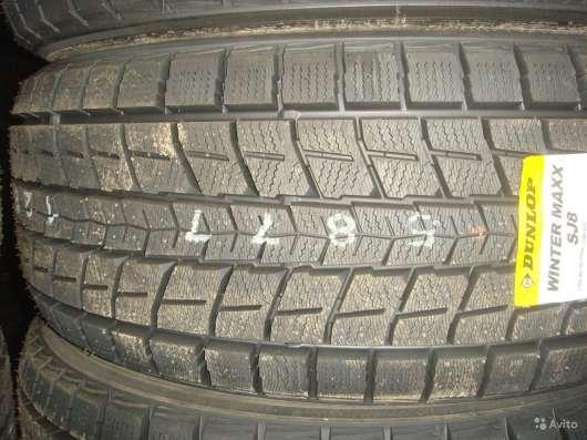 Новые зимние Dunlop 265/60 R18 Winter Maxx SJ8 в Москве Фото 2