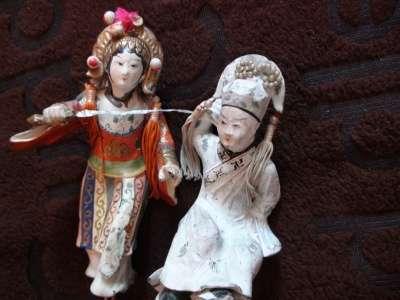сер.19в статуэтки Китайские девушки 2шт. в Санкт-Петербурге Фото 3
