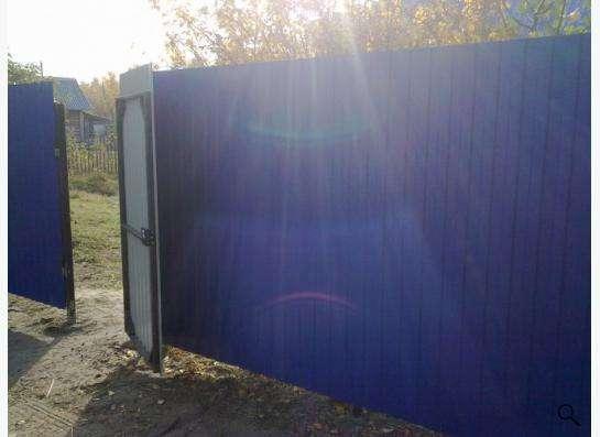 """Забор из профнастила """"под ключ"""""""