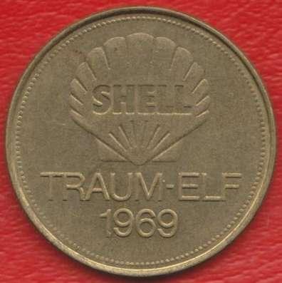 Жетон Shell Шелл Майер футбол Traum-elf 1969 в Орле Фото 1