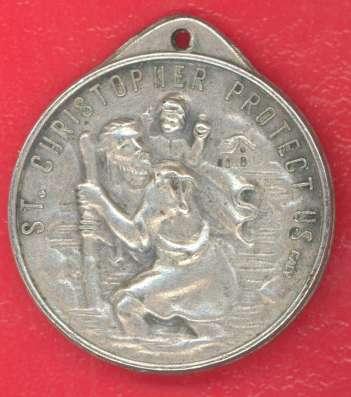 Италия жетон медаль Святой Христофор Иоанн Павел II