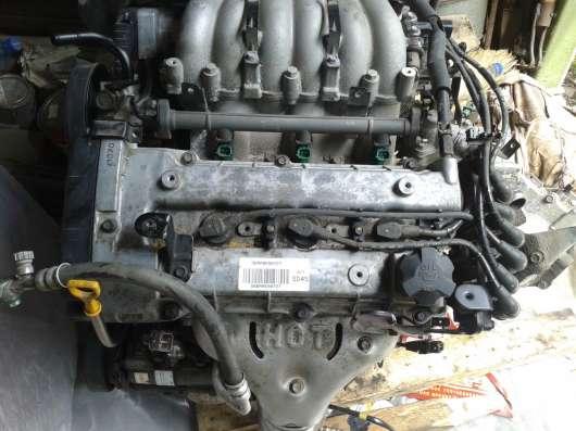 ДВИГАТЕЛЬ Hyundai SANTA FE 2.7 173лс