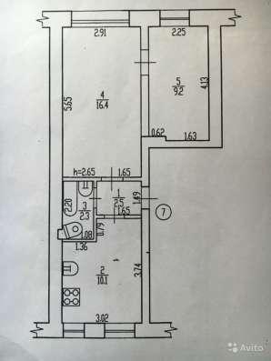 2-х комнатная квартира, 43.3 м², 1/2 эт