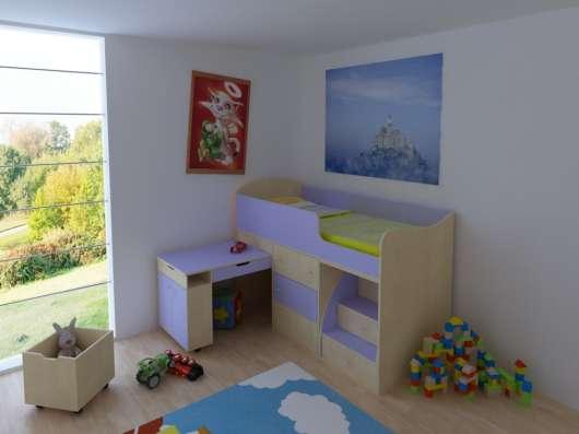 Кровать -чердак Малыш в Твери Фото 1