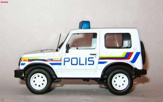 Полицейские машины мира №33 SUZUKI SAMURAI полиция малайзии в Липецке Фото 5