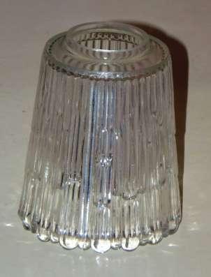 Плафоны стеклянные прозрачные бесцветные для люстр
