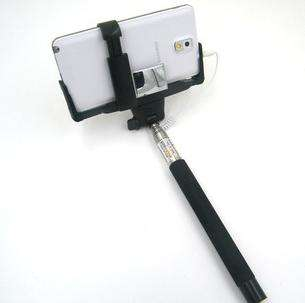 Монопод z07-5plus с зеркалом для задней камеры