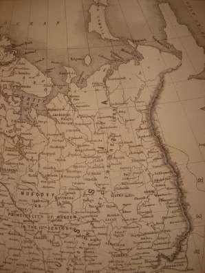Карта Россия в Европе [1855?] в г. Октябрьский Фото 1