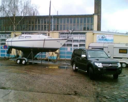 Транспортировка катеров, килевых яхт в г. Керчь Фото 5
