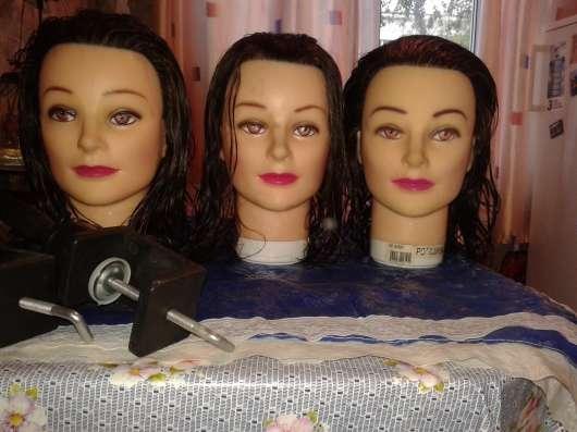 Головы-маникены для парикмахеров