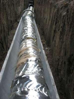 Теплоизоляция труб Фольма-ткань