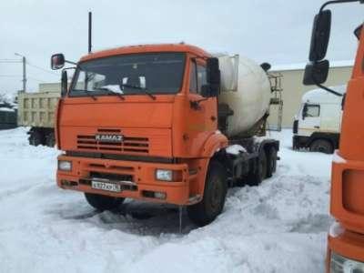 автобетоносмеситель КАМАЗ 6520