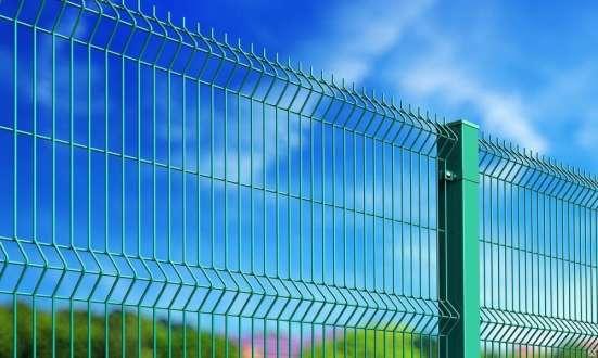 3Д забор Полимер 1.73х2.5м х3 мм RAL 6005