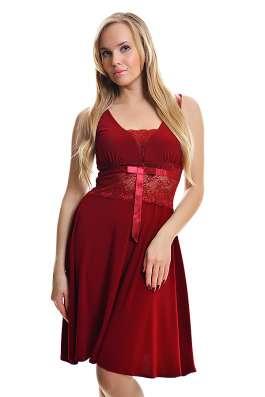 Платье новое красное