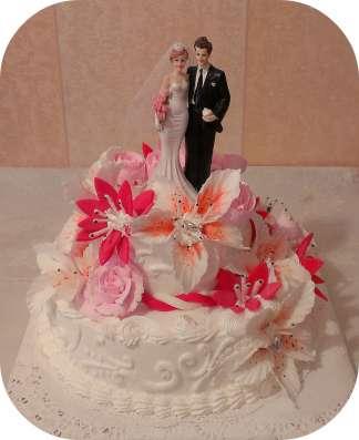 Свадебные торты в г. Пушкино Фото 1