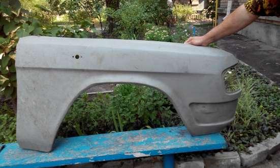 Правое переднее крыло на ГАЗ-31029