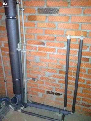 Монтаж водопровода, канализации, отопления в Краснодаре Фото 2