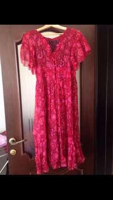 Платье-халат BURBERRY, оригинал, натуральный шёлк