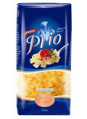 """""""Pasta Prio"""" оптом от производителя. Многолетний опыт работы в Москве Фото 2"""