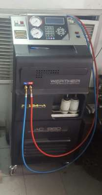 Станция заправки автокондиционеров WERTHER AC960