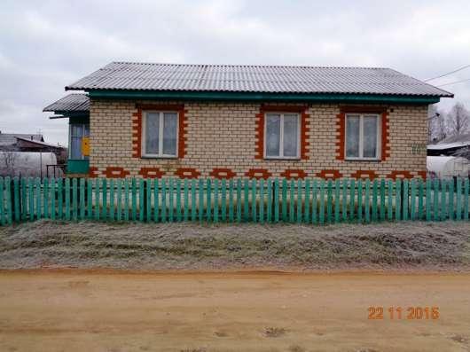Жилой кирпичный дом