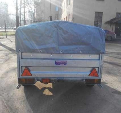 Оцинкованный прицеп КрКз150 2200х1300 в Москве Фото 1