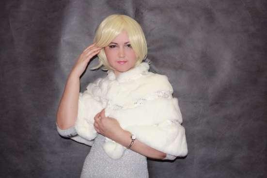 Жилетка свадебная из меха кролика в Москве Фото 1