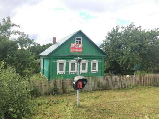 Продается хороший, крепкий деревянный дом для круглогодичного проживания в живописной деревне Бражниково, Можайский район 130 км от МКАД по Минскому шоссе. Фото 2