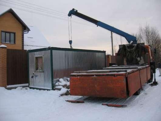 Манипулятор доставка разгрузка груза Санкт-Петербург. Фото 1