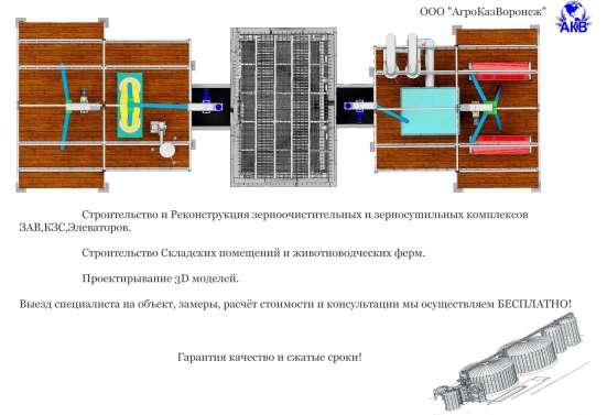 Элеваторное оборудование для зерна в Тамбове Фото 5