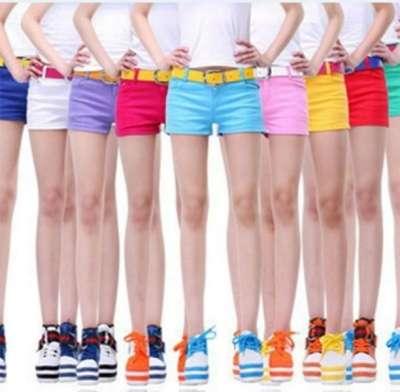 Оптом, шорты, хлопок, разные цвета