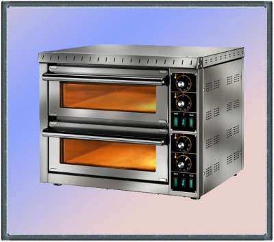 торговое оборудование  Печь для пиццы 2кам.