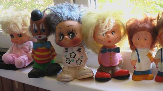 Игрушки резиновые с волосами. СССР в Саратове Фото 5