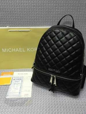 Люксовые рюкзаки Майкл Корс из натуральной кожи