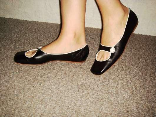 Туфли лайковые. италия