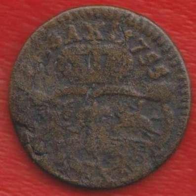 Польша 1 грош 1755 г